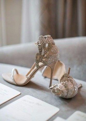 575c980c94 Zapatos de novia  Moda 2017 - 2018