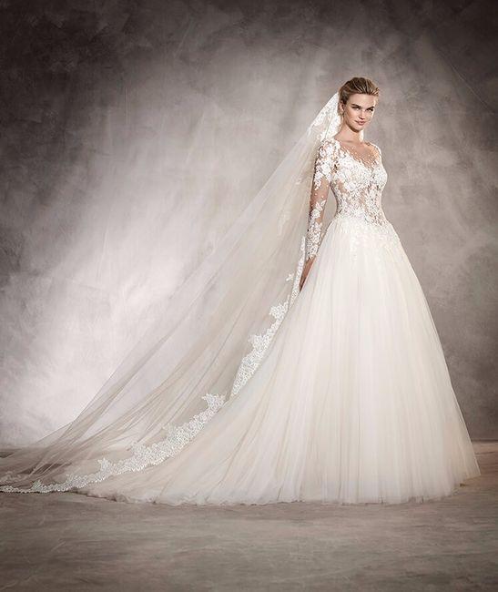 Vestidos de novia para gorditas pronovias
