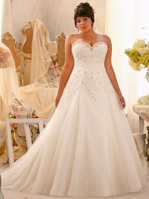 716ef7a2f 5 vestidos de novia para novias gorditas