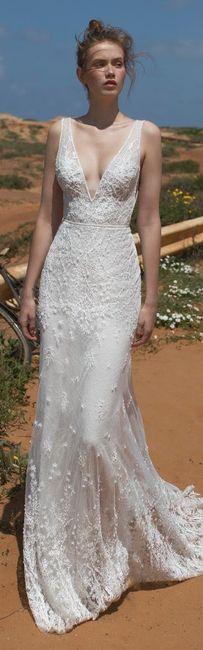 Vestidos de novia sencillos y sexis