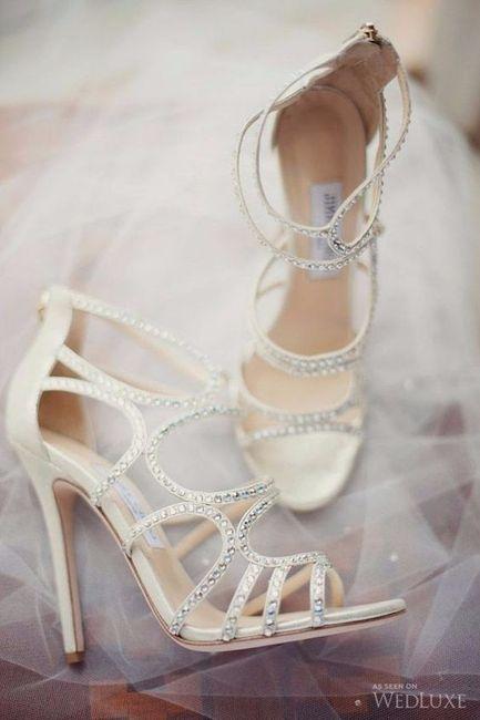 ¡Lo quiero, no lo quiero! Tus zapatos de novia 1