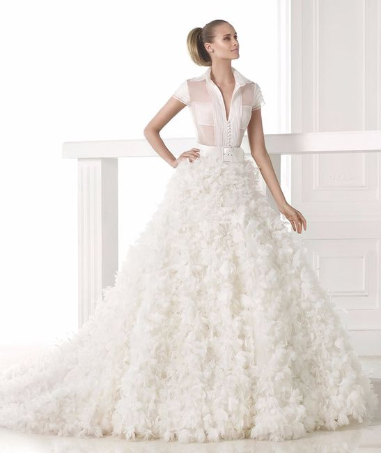 Sex and the city bridal #9