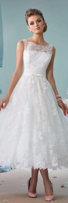 e80e533a73 Vestidos de novia cortos y cómodos