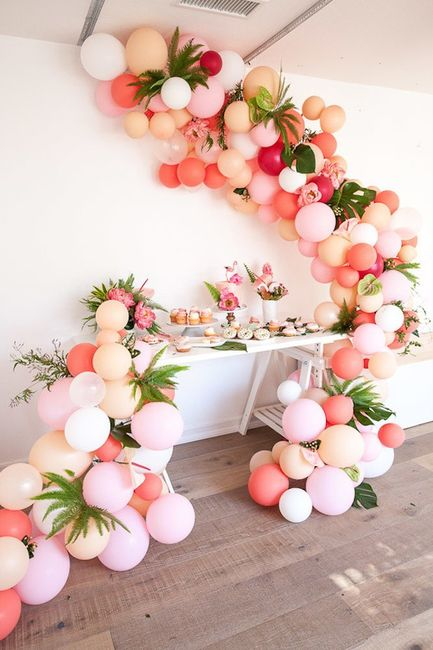 5 ideas para decorar tu boda con globos 1