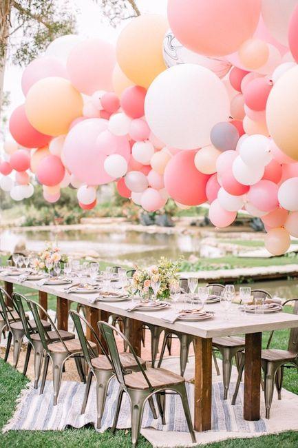 5 ideas para decorar tu boda con globos 2