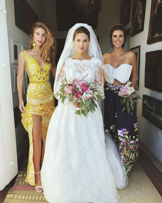 Looks de novias peruanas famosas ¿Sí o No? 2