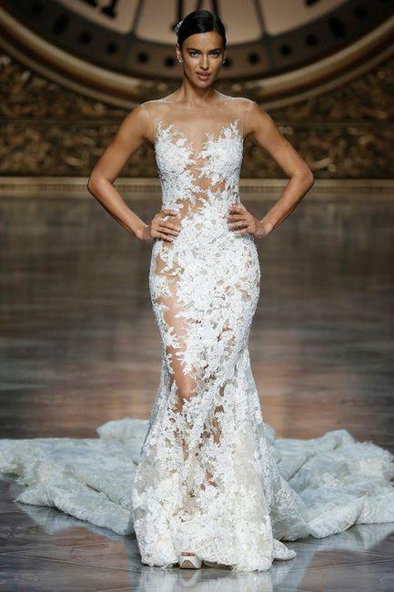 Vestido de novia con transparencias ¿Sí o no? 1