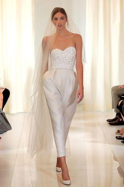 Vestido de novia enterizo ¿Sí o no? 1