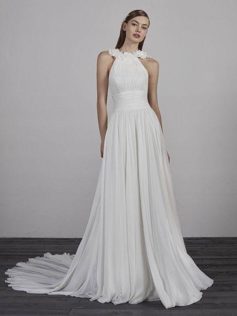 vestido de novia con cuello alto ¿sí o no?