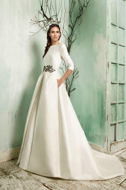 vestido de novia con mangas largas ¿sí o no?
