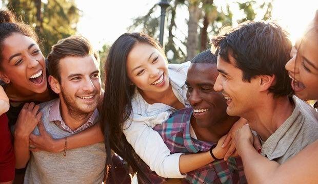¿Se llevan bien con sus respectivos amigos? 1