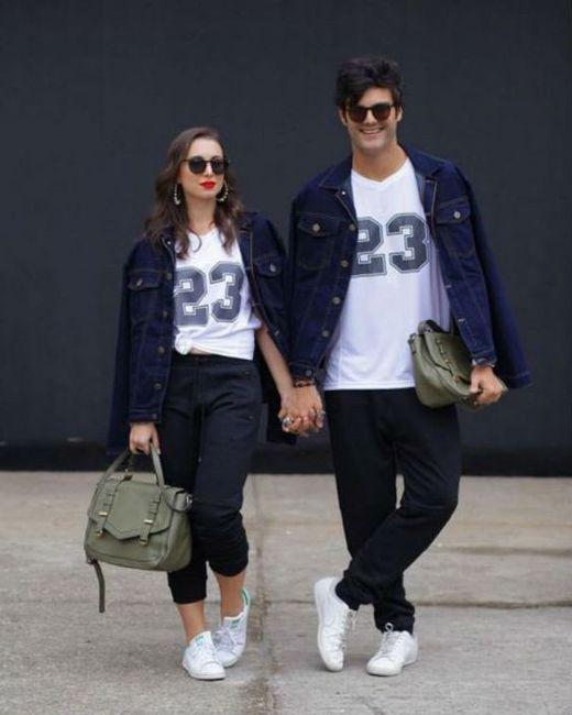¿Tienen el mismo estilo de vestir? 1