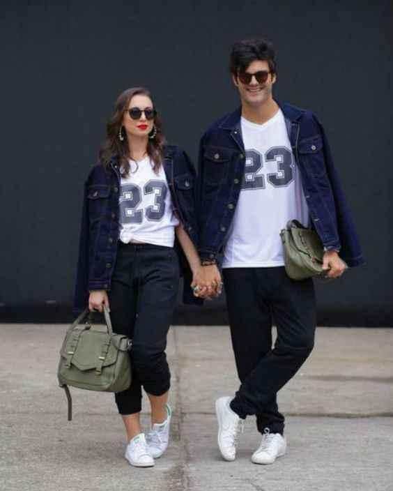 ¿Tienen el mismo estilo de vestir?