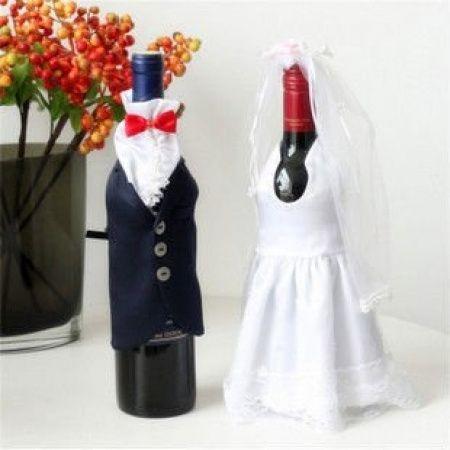botellas decoradas para matrimonio