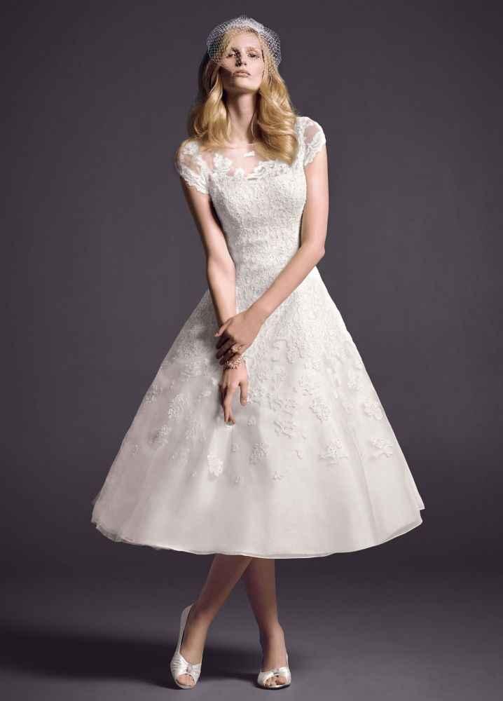 vestido de novia matrimonio civil
