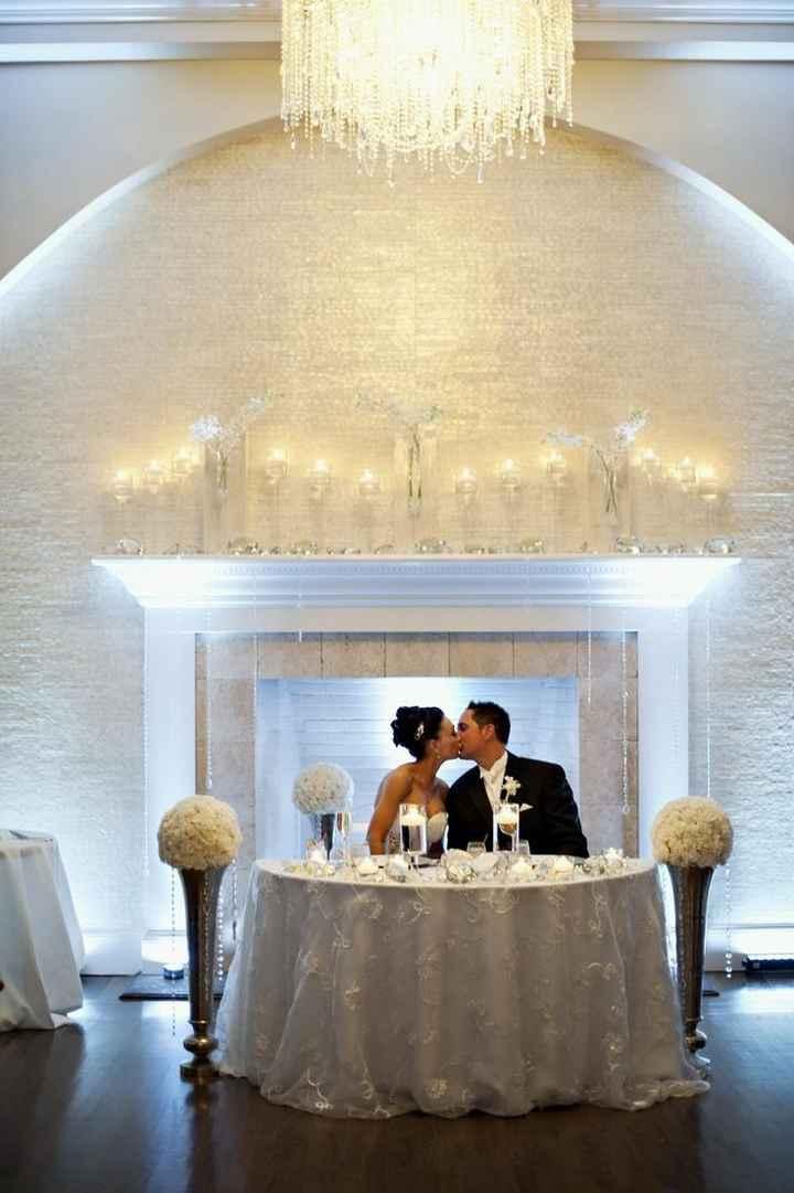mesa presidencial de boda