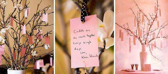 árbol de los deseos para novios
