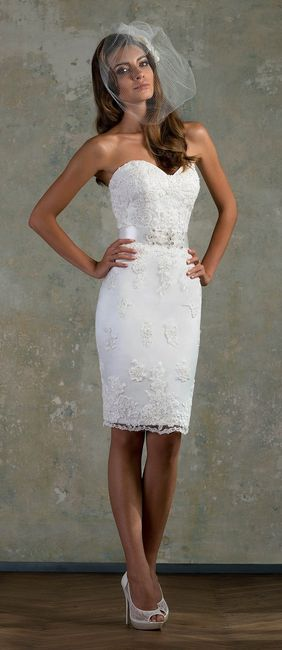 vestido blanco boda civil
