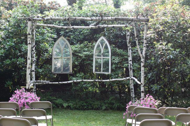altar ceremonia al aire libre
