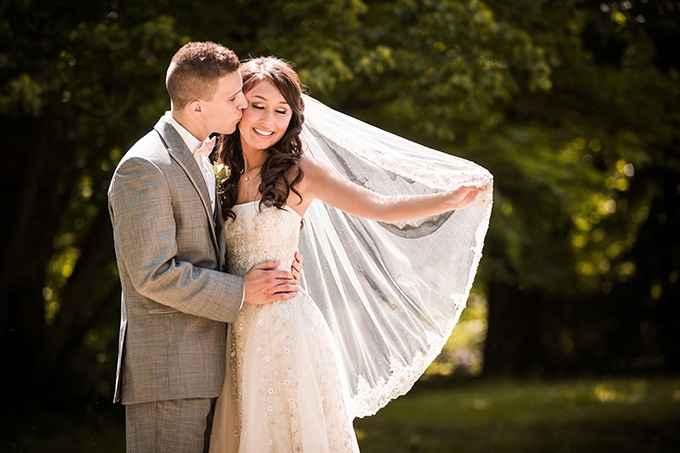 fotos de novios en la boda