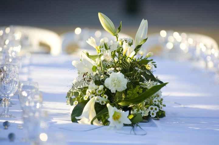 centro de mesa lilium boda