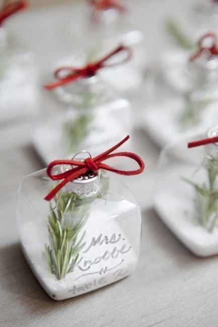 detalle navideño para matrimonio