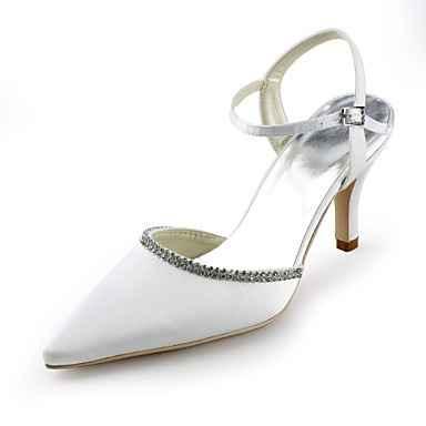 zapatos de novia en punta
