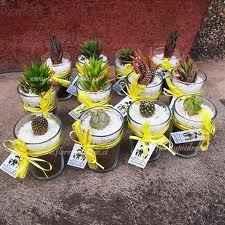 plantas para recuerdo de boda