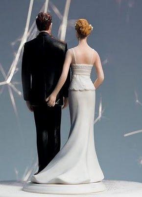 muñecos de tortas de matrimonio