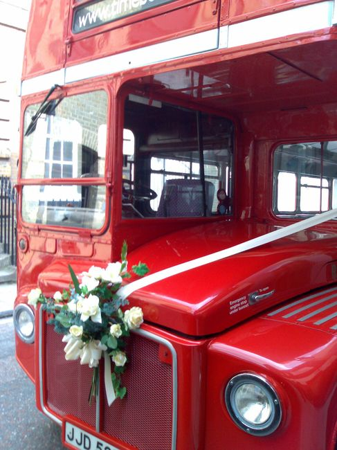 bus para matrimonio