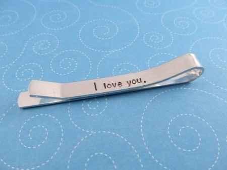 mensajes románticos en las joyas