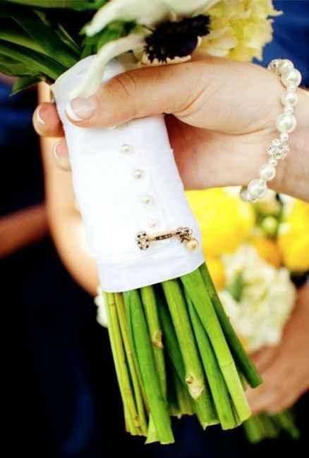 detalle para bouquet de novia