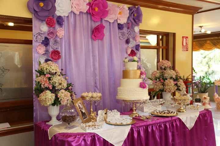 Mi Mesa de dulces