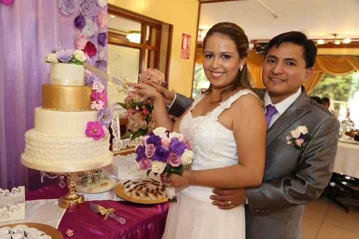 Partiendo la torta
