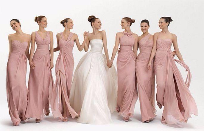 Modelos de vestidos para damas de honor 2016