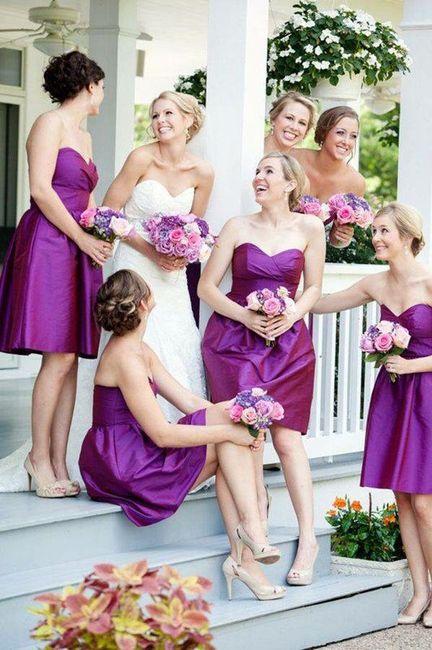 Opciones de vestidos para damas de honor!