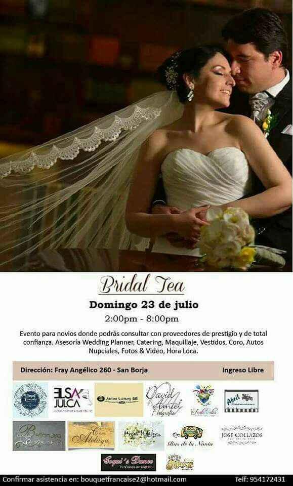 Bridal tea! - 2