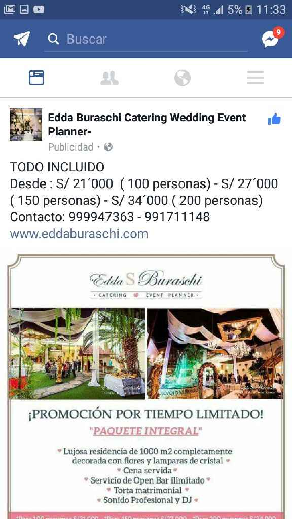 Promocion catering! - 1