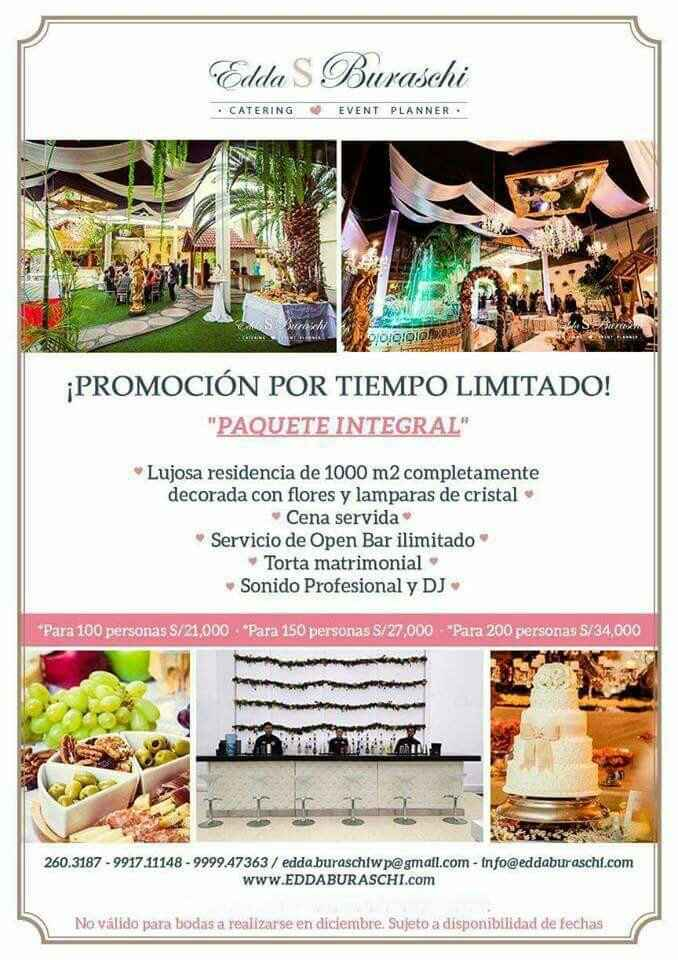 Promocion catering! - 2