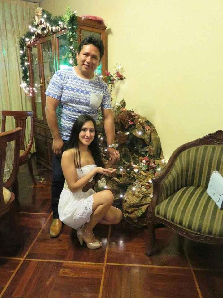 Nuestra Primera Navidad como esposos j & j ! Fam. Ysuhuaylas Piaggio - 4