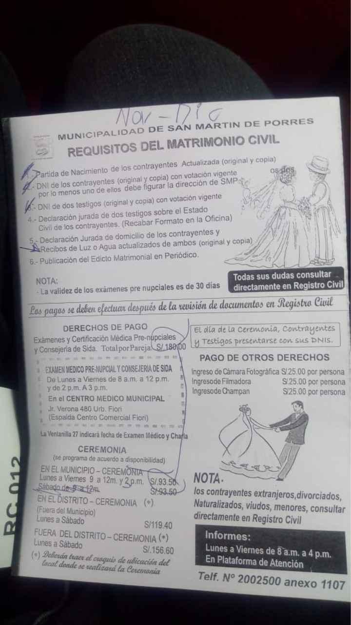 Boda Civil en San Martin de Porras - 1