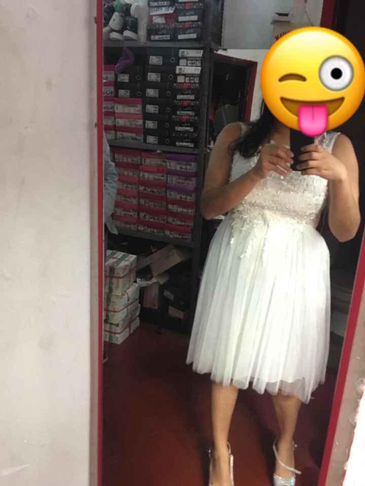 Vestido de Novia Civil - 1