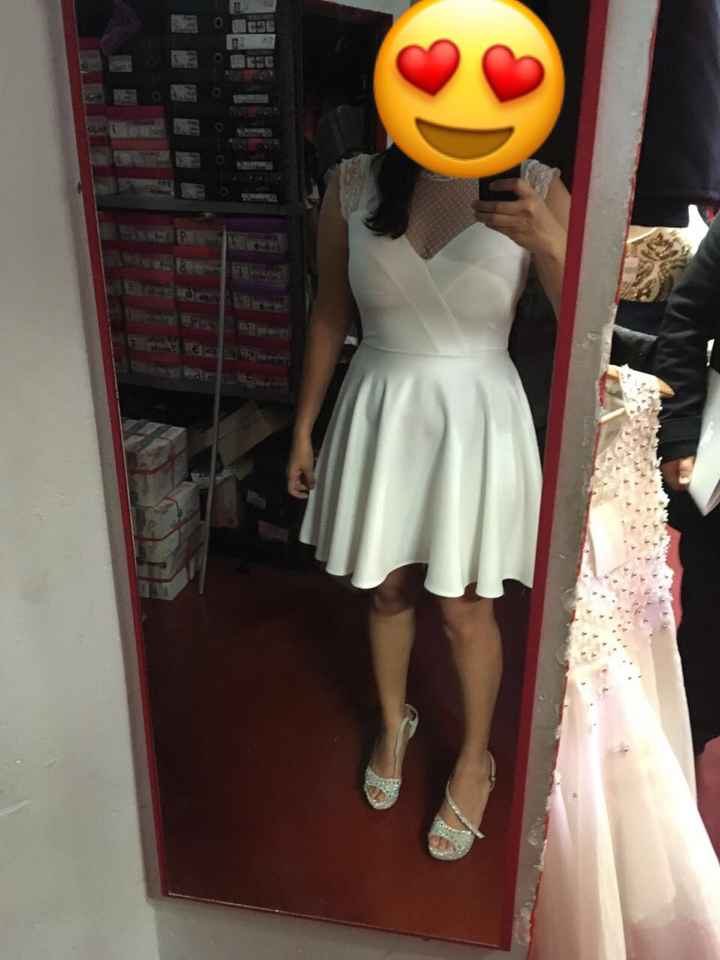 Vestido de Novia Civil - 2