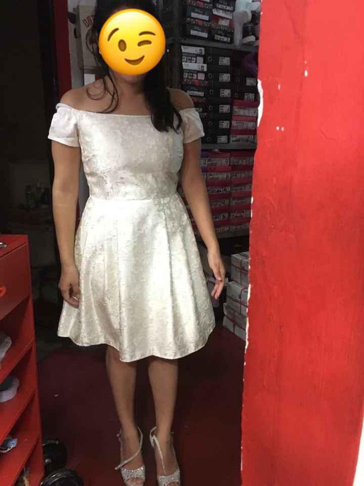 Vestido de Novia Civil - 3