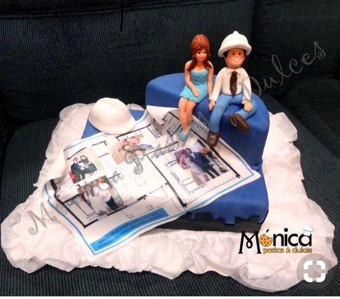 Torta Personalizada: Musico e Ingeniero 1