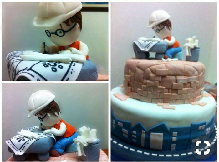 Torta Personalizada: Musico e Ingeniero 3