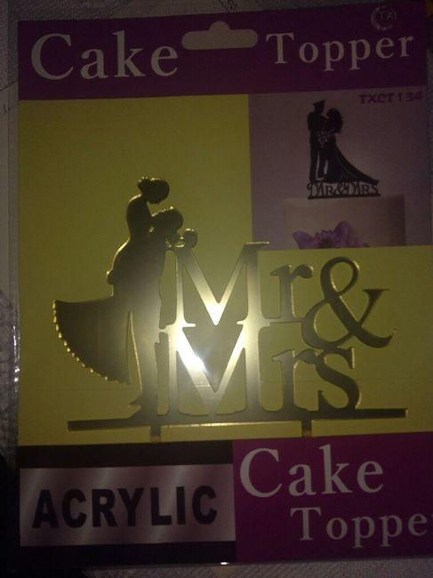 Dato: Topper para torta - 1