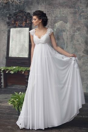Vestido de novia embarazada 1