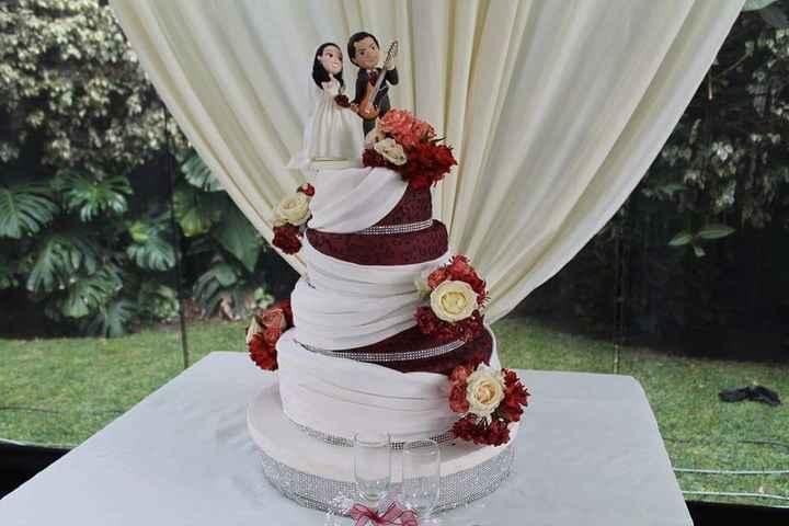 Pastel de bodas - 5
