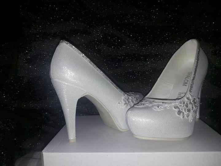 Mis zapatos de novia!!! - 2